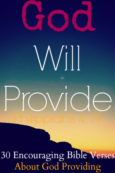 God Provides All Your Needs God Knows What we Need