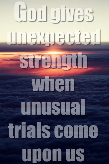 Unexpected Trials (You Are Not Alone)